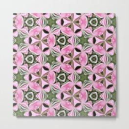 Kaleidoscopic flowers Metal Print