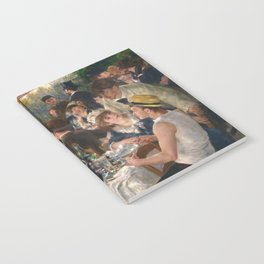 Auguste Renoir - Luncheon of the Boating Party (Le déjeuner des canotiers) Notebook