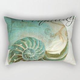 La Mer I Rectangular Pillow