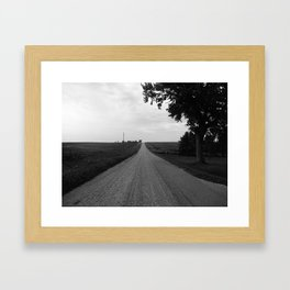 Road to Nowhere Framed Art Print