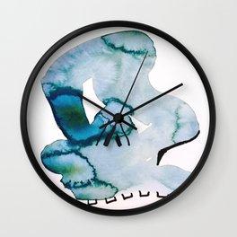 Psychopomp Wall Clock