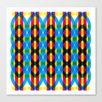 dna Canvas Prints featuring DNA by dzynwrld
