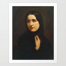 Sir John Everett Millais, Bt 1829–1896   Miss Anne Ryan Art Print