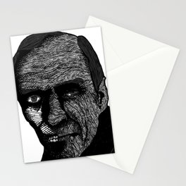 Misterious Man Stationery Cards
