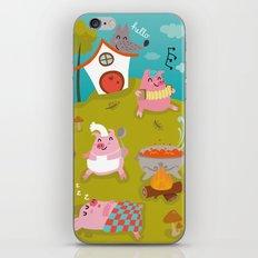 Three little PIG iPhone & iPod Skin