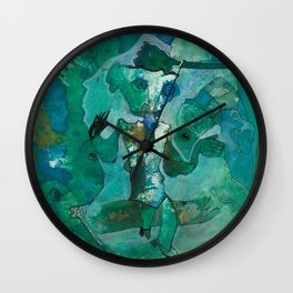 The Storyteller Wall Clock