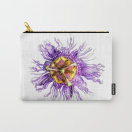 Passiflora incarnata Carry-All Pouch