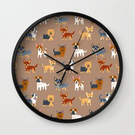 AUSSIE DOGS Wall Clock