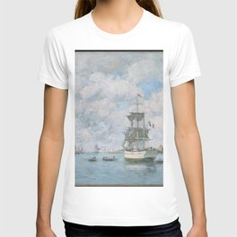 Eugène Boudin - Port of Le Havre T-shirt