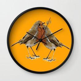 Cute Birds Wall Clock
