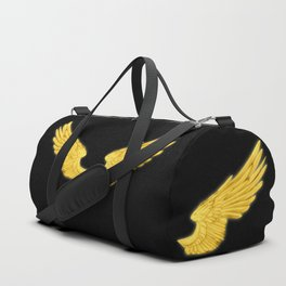 Golden Angel Wings Duffle Bag