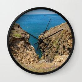 Rocky headland, Ramsey Island Wall Clock