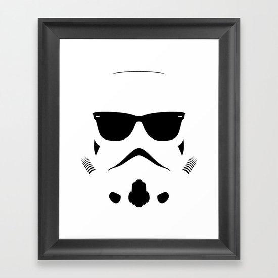 Shadetrooper Framed Art Print