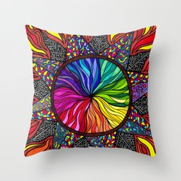 125 Throw Pillow