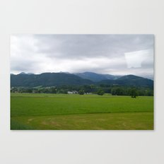 Plains. Canvas Print