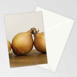 Onion trio Stationery Cards