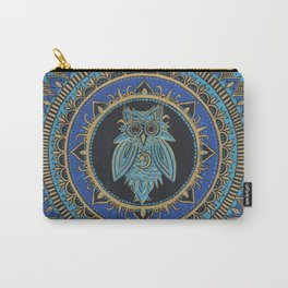 Blue Moon Owl Carry-All Pouch