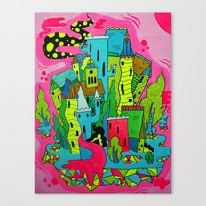 Cities of the Future Canvas Print