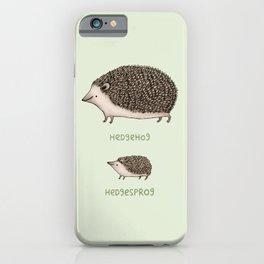 Hedgehog Hedgesprog iPhone Case