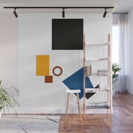 Geometric Abstract Malevic #5 Wall Mural