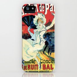 1890 Jardin De Paris Night Party iPhone Case