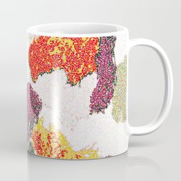 Abstract floral camouflage Coffee Mug