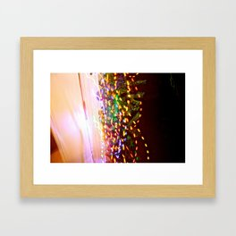 These lights Framed Art Print