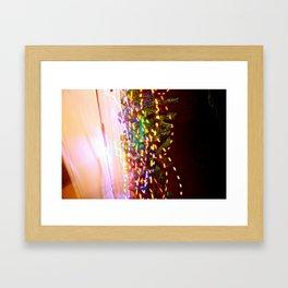These lights Framed Art Print