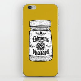 The King of Condiments iPhone Skin