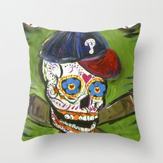 Sugarball Throw Pillow