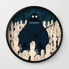Groke, the moomins Wall Clock