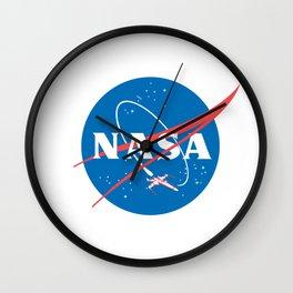 Nasa x Wing fighter Wall Clock