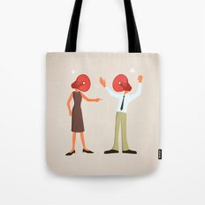 A Very Loud Argument Tote Bag