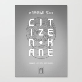 Citizen Kane - Exhibit A Canvas Print