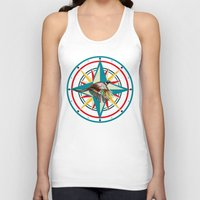 not all who wander are lost Tank Tops featuring Not all those who wander are lost by milanova