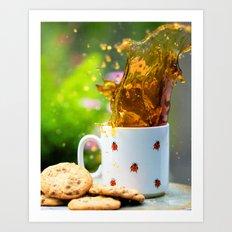 Cookie Splash Art Print