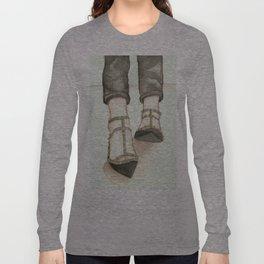 Studded  Long Sleeve T-shirt