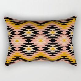 New Mexico in Blush Rectangular Pillow