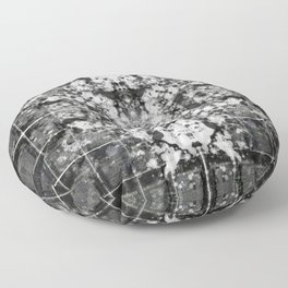 Sentimental Static Abstraction No. 685 Floor Pillow
