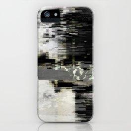 Transformative Space - Glitch 01 iPhone Case