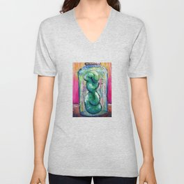 Pickled: Stuck in a Jar Again Unisex V-Neck