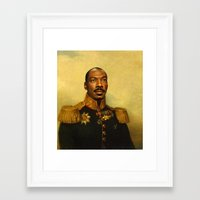 replaceface Framed Art Prints featuring Eddie Murphy - replaceface by replaceface