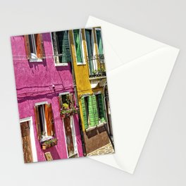 Burano, Venice - Italy Stationery Cards