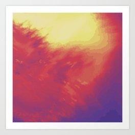 Psychedelica Chroma IV Art Print