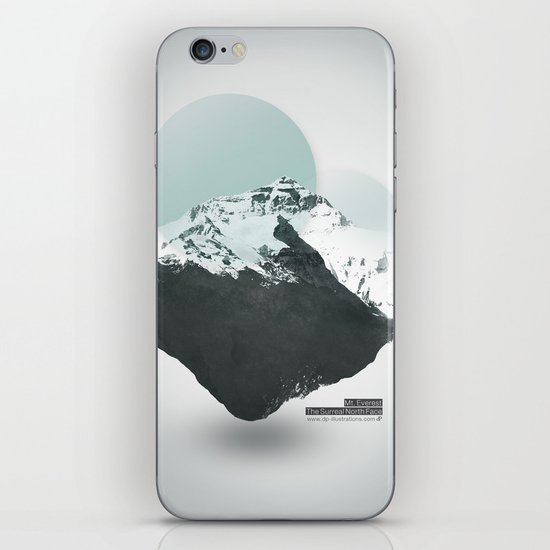 Mt. Everest - The Surreal North Face iPhone & iPod Skin