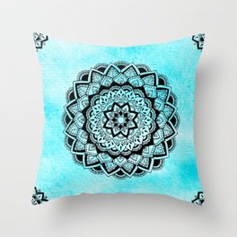 Kali Mandala Throw Pillow