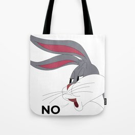Bugs Bunny Meme NO Tote Bag