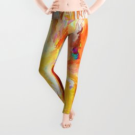 Design - Splash of Color Leggings