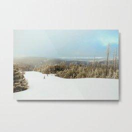 On Grabhammer trail, Snowshoe, wv, 2014 Metal Print