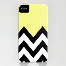 YELLOW COLORBLOCK CHEVRON Slim Case iPhone (4, 4s)